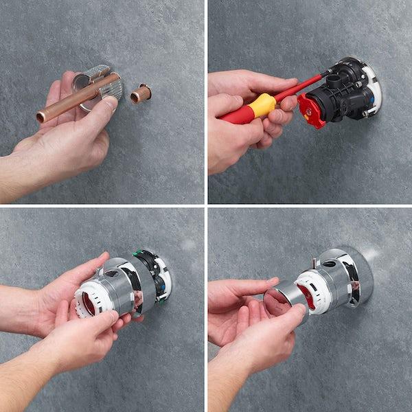 Mira Minimal ERD thermostatic mixer shower