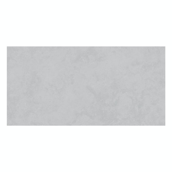 Volta grey stone effect flat matt wall and floor tile 300mm x 600mm
