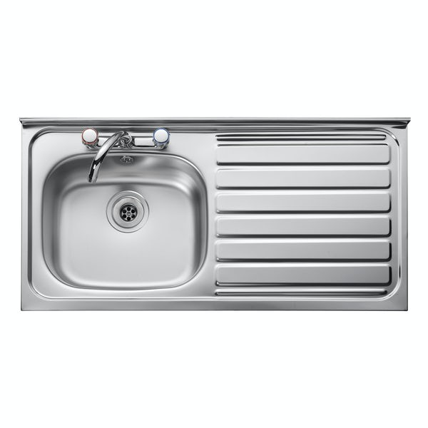1.0 bowl right handed kitchen sink