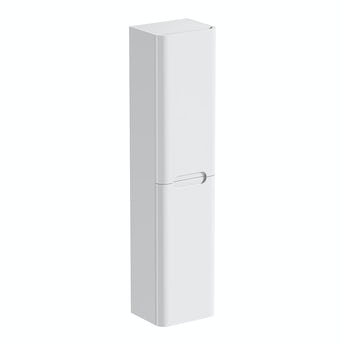 Mode Ellis white wall hung cabinet 1500 x 350mm