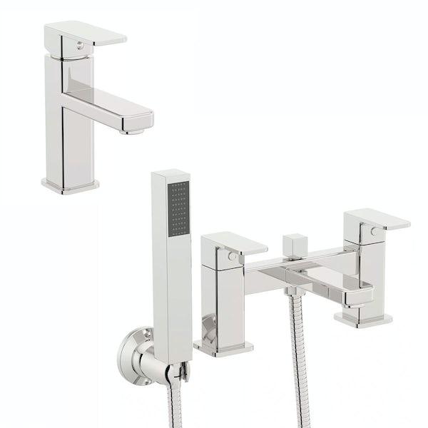 Quartz Basin and Bath Shower Mixer Pack