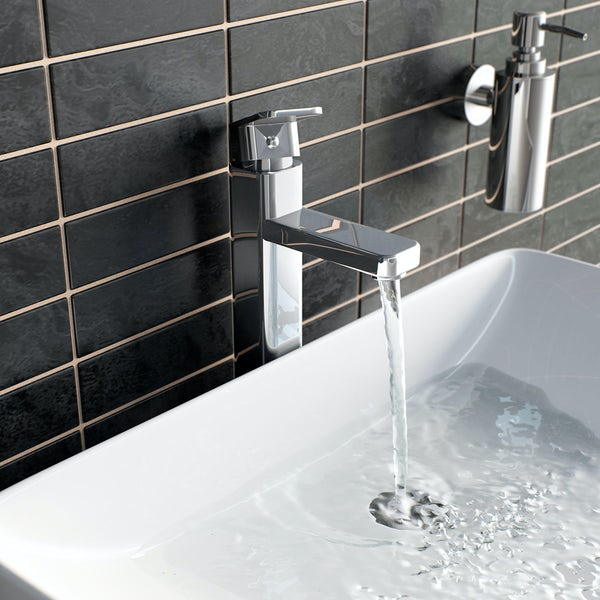Quartz High Rise Basin Mixer