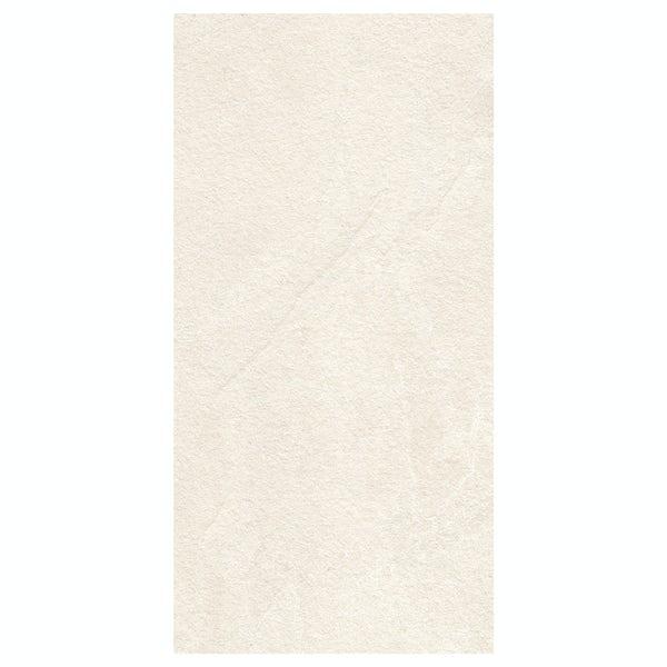 Mode Nouvel white claystone laminate worktop 1.5m