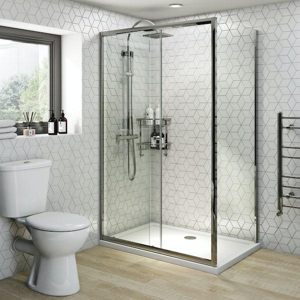 Clarity 4mm sliding shower enclosure