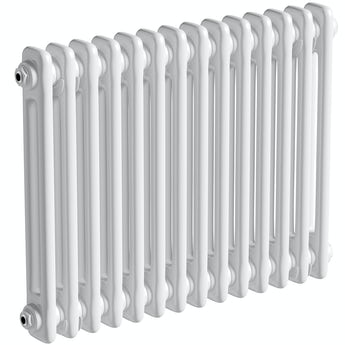 The Heating Co. Corso white 2 column radiator