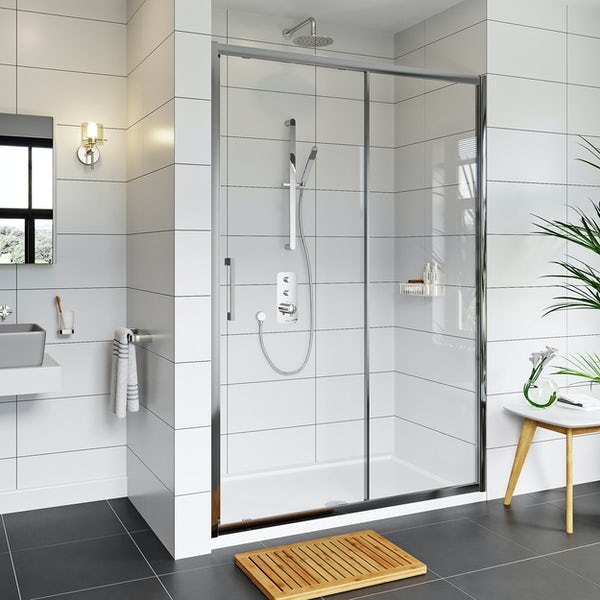 Mode Adler 8mm framed sliding shower door