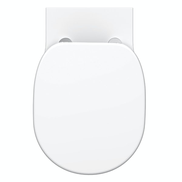 Ideal Standard Concept Freedom comfort height wall hung toilet with soft close seat