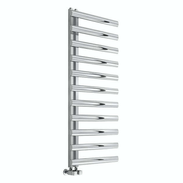 Reina Cavo polished stainless steel designer radiator