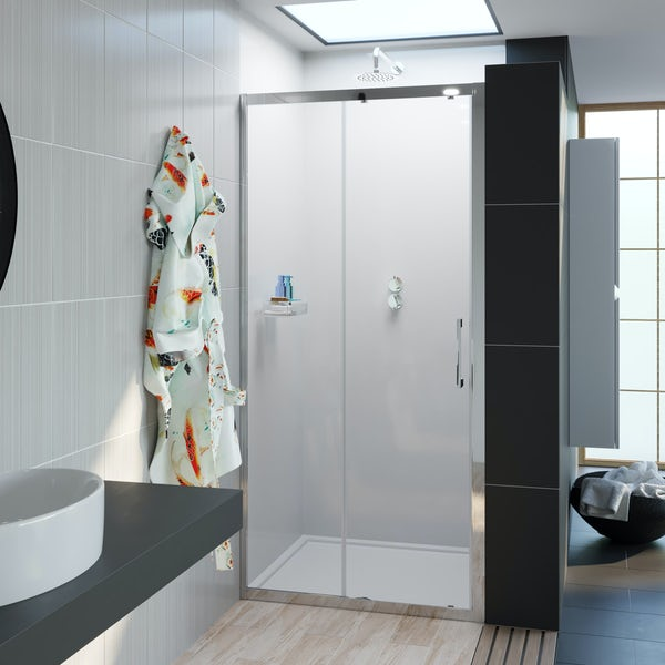Showerwall Acrylic Frosted shower wall panel