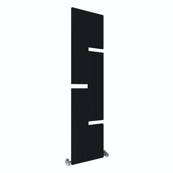 Reina Fiore anthracite grey steel designer radiator