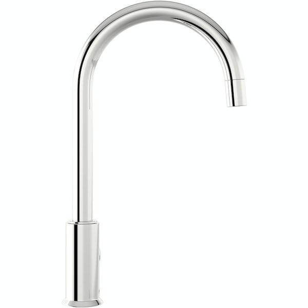 Schon Harris chrome kitchen mixer tap with cold star cartridge