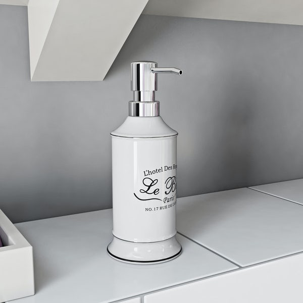 The Bath Co. Le bain soap dispenser