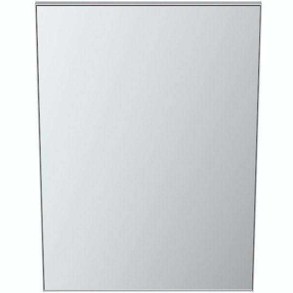 Ideal Standard framed bathroom mirror 500 x 700mm