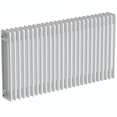 Main image for The Bath Co. Camberley white 4 column radiator 600 x 1194