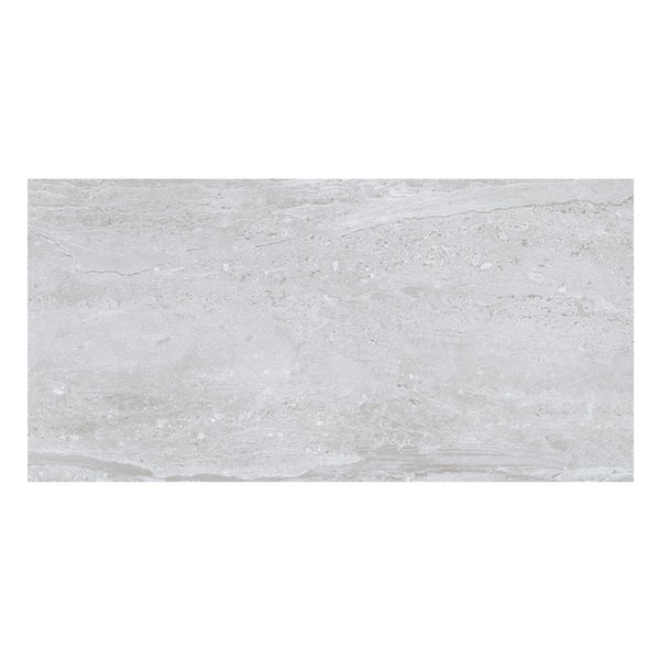 Salerno light grey wall tile 250mm x 500mm