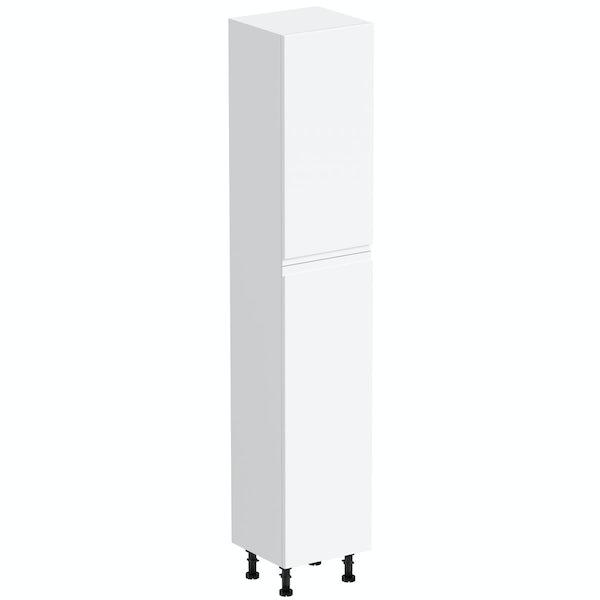 Orchard Wharfe white tall storage unit
