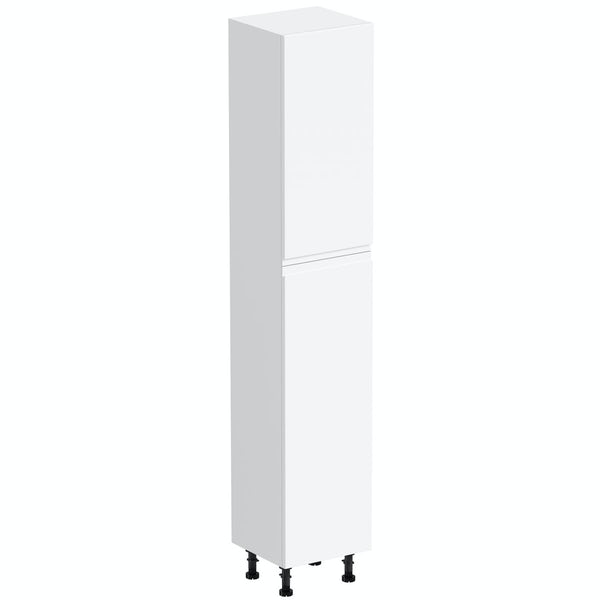 Orchard Wharfe white tall storage unit