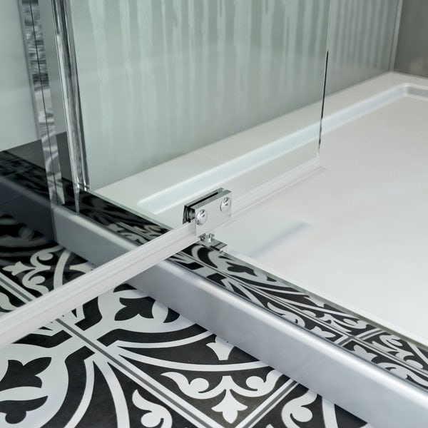 The Bath Co. Winchester traditional 6mm pivot shower door