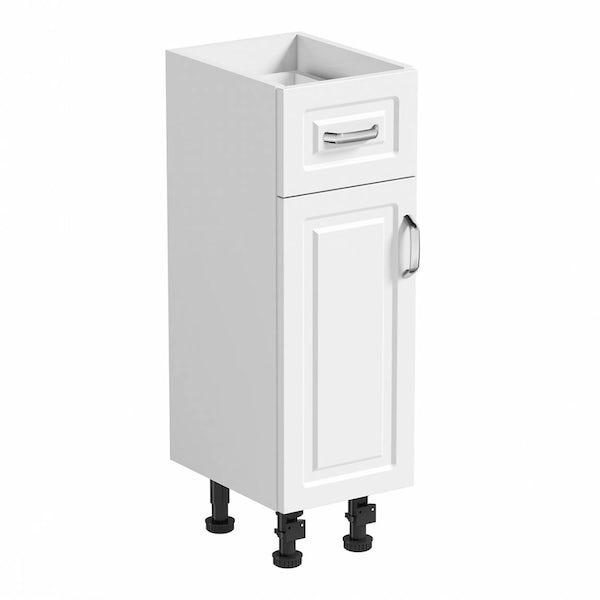 Florence White Storage Unit