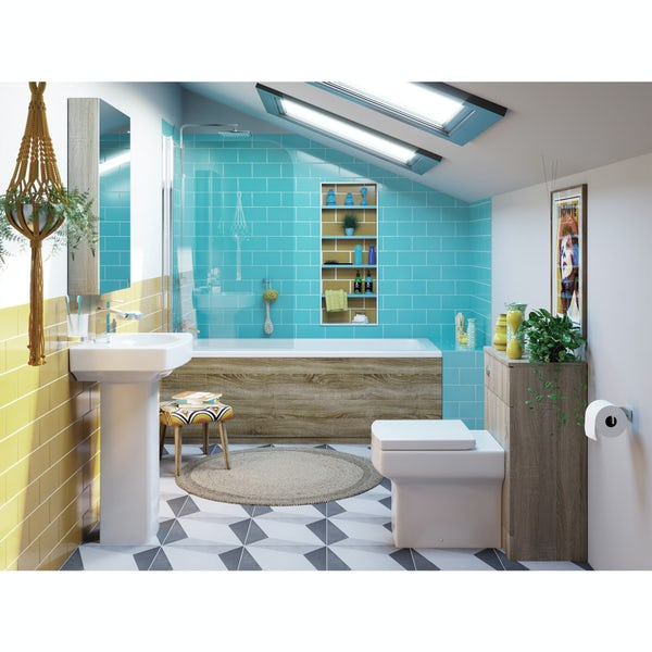 Orchard Wye complete shower bath suite