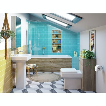Orchard Get The Look New Retro complete shower bath suite