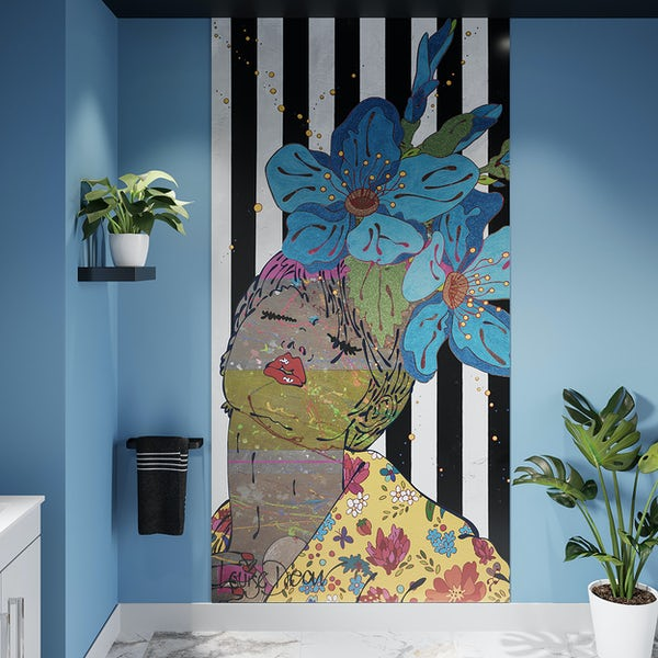 Louise Dear And I Think Of You shower door suite 1200mm