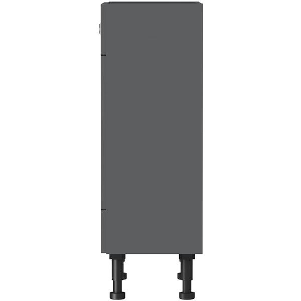 Mode Nouvel gloss grey BTW unit 600mm