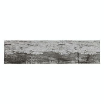 Basswood grey wood effect matt wall and floor tile 150mm x 600mm