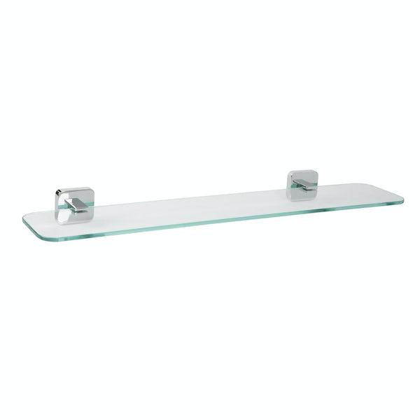 Croydex Berlin glass shelf
