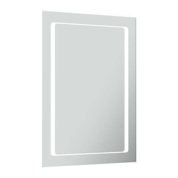 Shine rectangular LED mirror