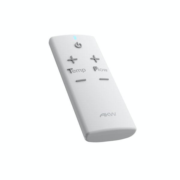 AKW iCare electric shower remote control