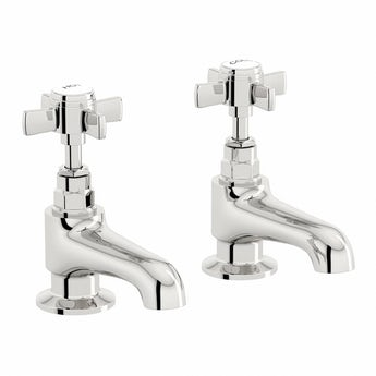 The Bath Co. Dulwich bath pillar taps