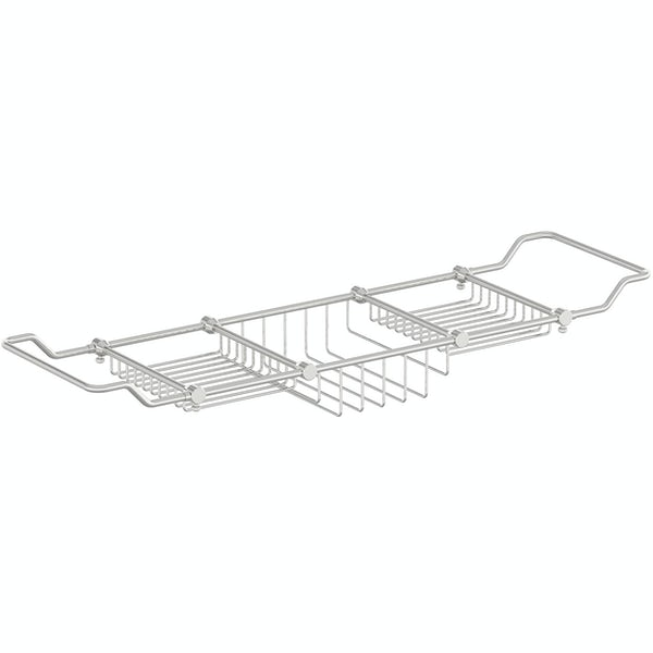 Accents contemporary extendable bath caddy