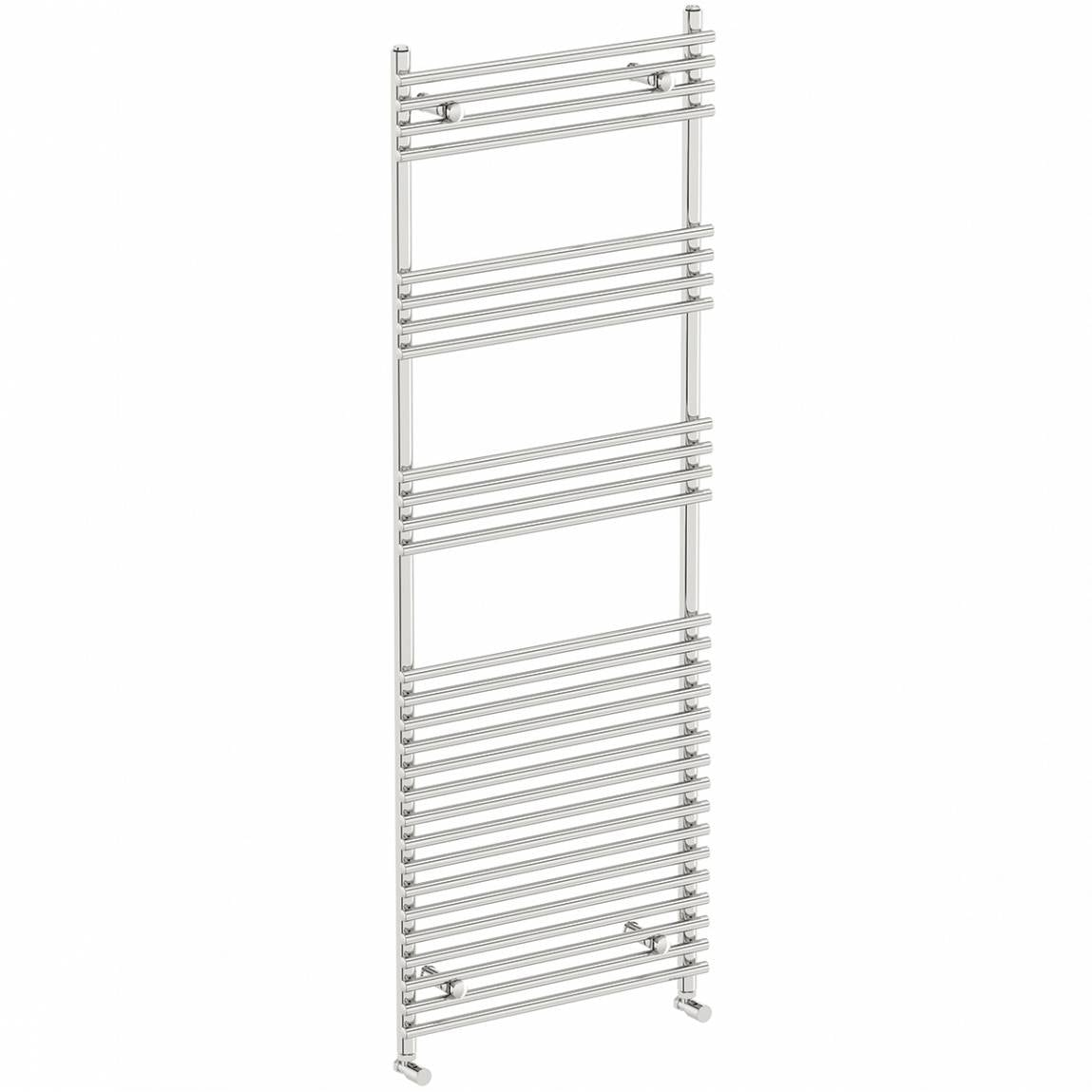 Orchard Derwent heated towel rail 1650 x 600 offer pack