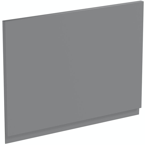 Schon Chicago mid grey 600mm integrated extractor door