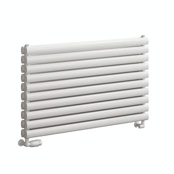 Reina Roda white double steel designer radiator
