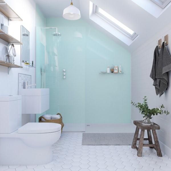 Showerwall Acrylic Opal shower wall panel