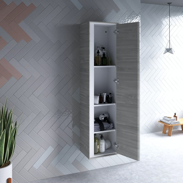 Ideal Standard Concept Air wood light grey wall cabinet