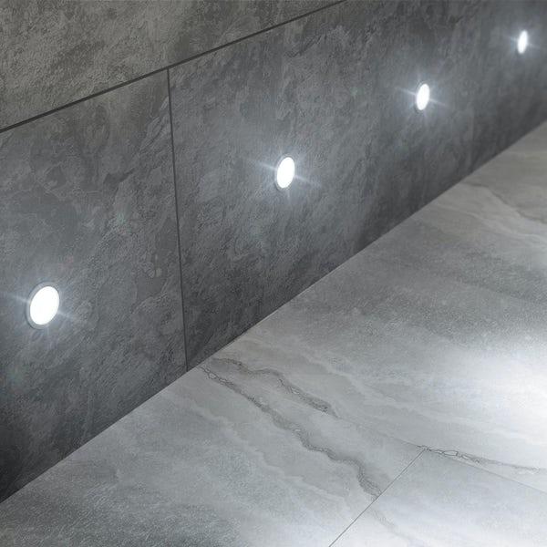 Round 6 LED plinth light kit
