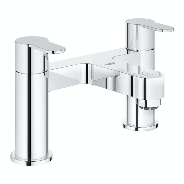 Grohe BauEdge deck mounted bath filler tap