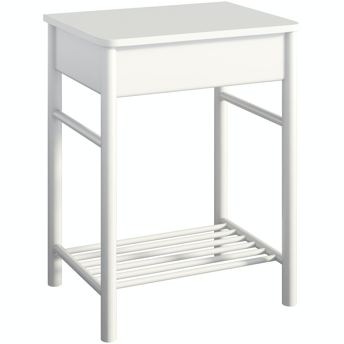 South Bank white washstand with top