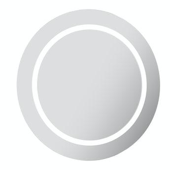 Mode Shine round LED illuminated mirror 600 x 600mm with demister