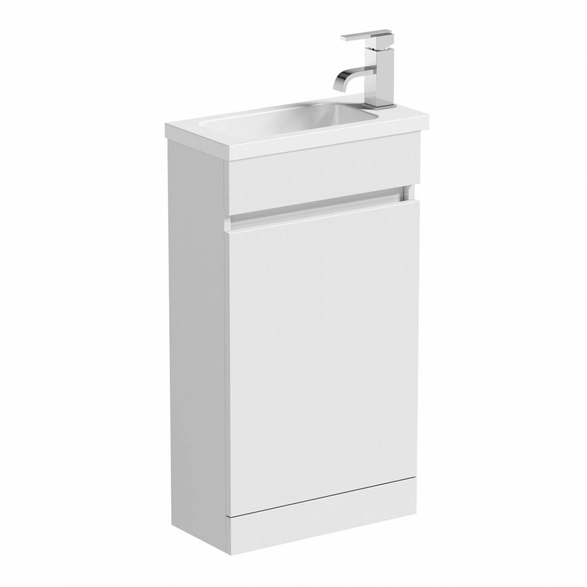 Plan White Compact Unit & Basin