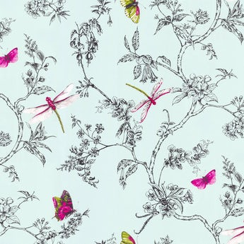 Superfresco easy nature trail duck egg blue wallpaper