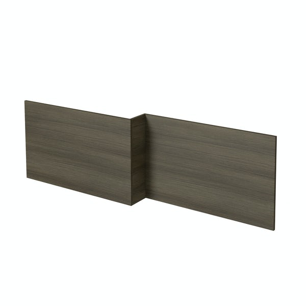 Orchard Wye walnut shower bath front panel 1700mm