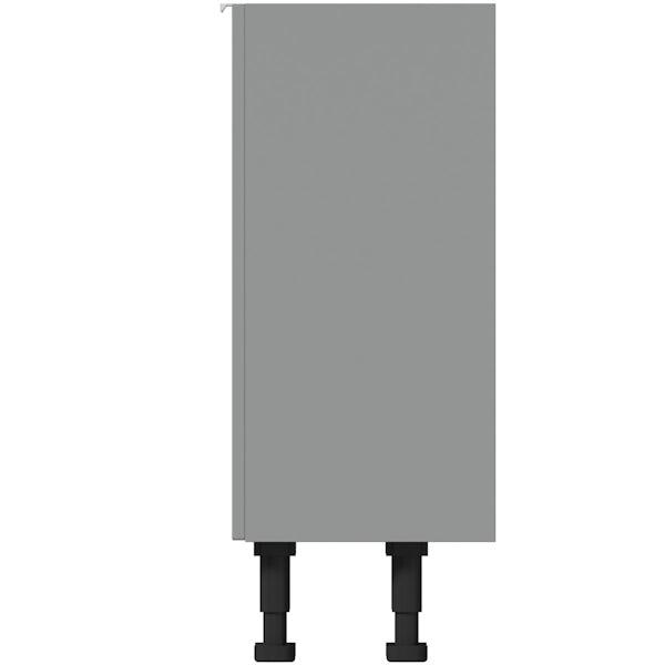 Reeves Wyatt onyx grey storage unit 870 x 600mm