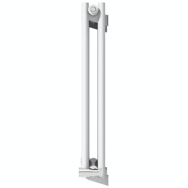 Mode Tate white double horizontal radiator