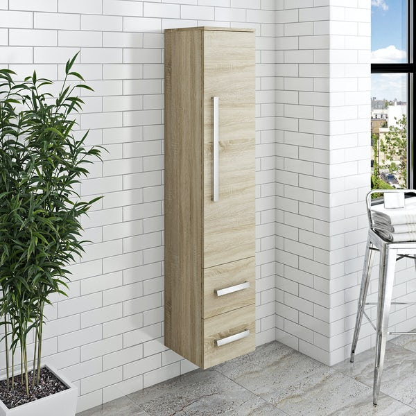 Wye oak wall cabinet