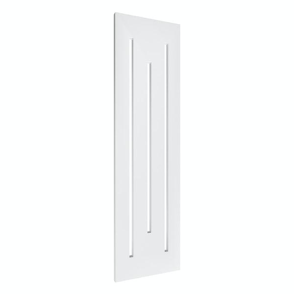 Reina Line white steel designer radiator 1800 x 490