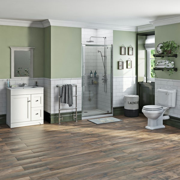 The Bath Co. Winchester complete shower door suite